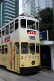Hong Kong tram Royalty Free Stock Image