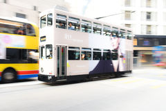 Hong Kong tram Royalty Free Stock Photo