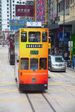 Hong Kong Tram Royalty Free Stock Photography