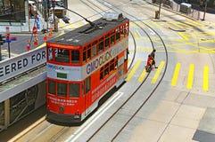 Hong kong tram Royalty Free Stock Photography