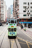 Hong Kong trams Royalty Free Stock Photos
