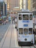 hong kong tramwaj Obrazy Royalty Free