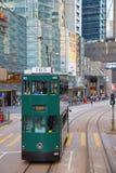 hong kong tramwaj Zdjęcie Royalty Free