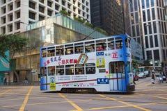 hong kong tramwaj Obraz Stock