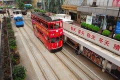 Hong Kong tramway Stock Image
