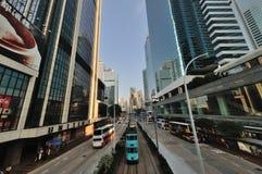 Hong Kong tramway Royalty Free Stock Photo