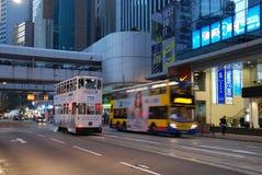 hong kong transport publiczny fotografia royalty free