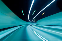 Hong Kong tunnel Arkivbild