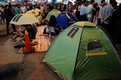 Hong Kong Umbrella Revolution 2014 Royalty Free Stock Photo