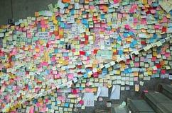 Hong Kong Umbrella Revolution 2014 Stock Image