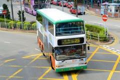 Hong Kong Urban Bus Foto de archivo libre de regalías