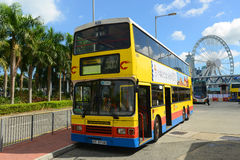 Hong Kong Urban Bus Royalty-vrije Stock Foto's