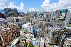 Hong Kong Urban downtown Stock Photos