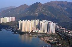 Hong Kong urban landscape. The urban landscape in Hong Kong Royalty Free Stock Photo