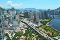 Hong Kong urbano fotografia de stock