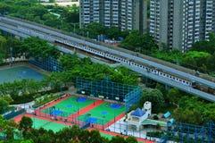 Hong kong urbanscape. A look at hong kong's urbanscape from chaiwan high point Stock Photo