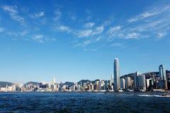 Hong Kong Victoria Habour Immagini Stock Libere da Diritti
