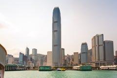 Hong Kong Victoria Harbor Royalty Free Stock Photography