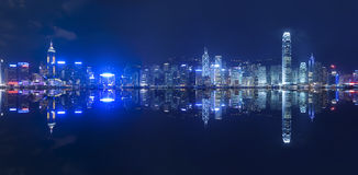 Hong Kong. Victoria Harbor of Hong Kong Royalty Free Stock Photos