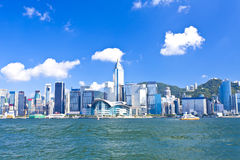 Hong Kong Victoria Harbor Images stock