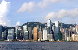 Hong Kong Victoria harbor Stock Image