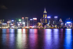 Hong Kong Victoria harbor Royalty Free Stock Photography