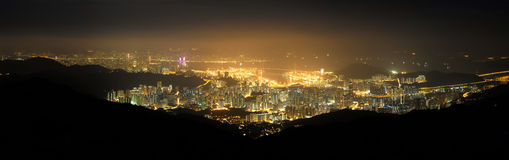 Hong Kong Victoria Harbour Royalty Free Stock Photos
