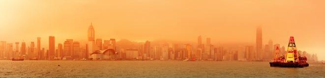 Hong Kong Victoria Harbour Royaltyfria Bilder
