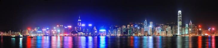 Hong Kong Victoria Harbour Arkivbilder
