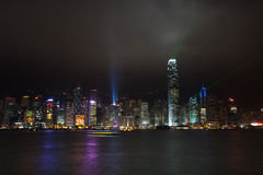 Hong Kong Victoria Harbour Imagem de Stock Royalty Free
