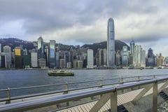 Hong Kong Victoria Harbour Stock Afbeeldingen