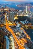 Hong Kong Victoria Harbour royalty-vrije stock fotografie