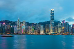 Hong Kong Victoria Harbour Stock Photos