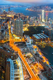 Hong Kong Victoria Harbour Royalty Free Stock Photography