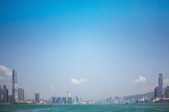 Hong Kong victoria harbour Royalty Free Stock Image