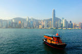 Hong kong view Stock Image