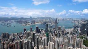 Hong Kong view Stock Images