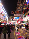 Hong Kong view: Mong Kok Stock Photography