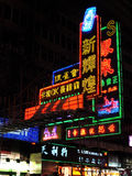 Hong Kong view: Mong Kok Stock Photo