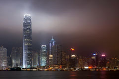Hong kong. View from victoria harbour royalty free stock images