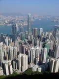 Hong Kong von der Spitze Lizenzfreie Stockbilder