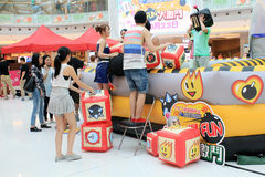 Hong Kong VS  Bomberman game event Royalty Free Stock Photo
