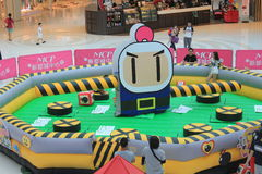 Hong Kong VS Bomberman game event Stock Images