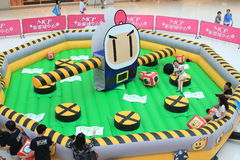2015 Hong Kong VS Bomberman game event Stock Photography