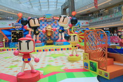 2015 Hong Kong VS Bomberman game event. Hong Kong VS Bomberman game event, located in Metro City Plaza, Hong Kong, on June 18th, 2015. The event aims to promote Stock Photography