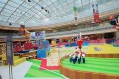 2015 Hong Kong VS Bomberman game event. Hong Kong VS Bomberman game event, located in Metro City Plaza, Hong Kong, on June 18th, 2015. The event aims to promote Royalty Free Stock Images
