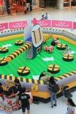 Hong Kong 2015 VS Bomberman lekhändelse Royaltyfri Fotografi
