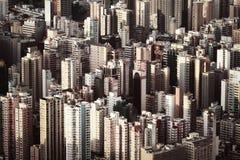 Hong kong własność wycenia wysokiego w świacie Zdjęcia Royalty Free