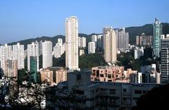 Hong Kong W połowie poziomy zdjęcia royalty free