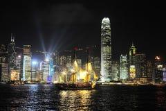 Hong Kong wallpaper Stock Images